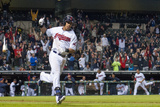 May 19, 2014, Detroit Tigers vs Cleveland Indians - Michael Brantley Photographic Print by Jason Miller