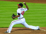 Jul 2, 2014, New York Mets vs Atlanta Braves - Julio Teheran Photographic Print by Scott Cunningham