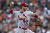 Jul 2, 2014, St. Louis Cardinals vs San Francisco Giants - Adam Wainwright Photographic Print by Jason O. Watson