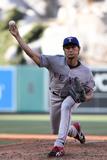 Jun 22, 2014, Texas Rangers vs Los Angeles Angels of Anaheim - Yu Darvish Photographic Print by Lisa Blumenfeld