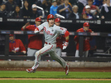 May 9, 2014, Philadelphia Phillies vs New York Mets - Chase Utley Photographic Print by Al Bello