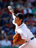 Jun 15, 2014, Cleveland Indians vs Boston Red Sox - Koji Uehara Photographic Print by Jim Rogash