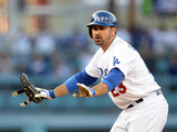 Apr 19, 2014, Arizona Diamondbacks vs Los Angeles Dodgers - Adrian Gonzalez Photographic Print by Harry How