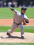 May 25, 2014, New York Yankees vs Chicago White Sox - Masahiro Tanaka Photographic Print by Jonathan Daniel