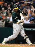 Apr 26, 2014, Oakland Athletics vs Houston Astros - Josh Donaldson Photographic Print by Scott Halleran