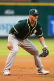 Apr 25, 2014, Oakland Athletics vs Houston Astros - Josh Donaldson Photographic Print by Scott Halleran