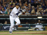 Sep 16, 2013, Seattle Mariners vs Detroit Tigers - Victor Martinez Photographic Print by Duane Burleson