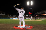 2012 World Series Game 4: Oct 28, San Francisco Giants vs Detroit Tigers - Miguel Cabrera Photographic Print by Ezra Shaw