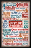 Just Be Awesome Posters