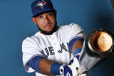 Toronto Blue Jays Photo Day: Feb 25, 2014 - Melky Cabrera Photographic Print by Marc Serota