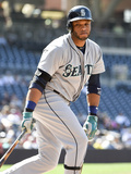 Jun 19, 2014, Seattle Mariners vs San Diego Padres - Robinson Cano Photographic Print by Denis Poroy
