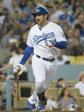 May 28, 2014, Cincinnati Reds vs Los Angeles Dodgers - Adrian Gonzalez Photographic Print by Harry How