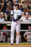 Jun 3, 2014, Arizona Diamondbacks vs Colorado Rockies - Troy Tulowitzki Photographic Print by Dustin Bradford