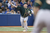 May 23, 2014, Oakland Athletics vs Toronto Blue Jays - Josh Donaldson Photographic Print by Tom Szczerbowski