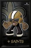 New Orleans Saints - Rusher NFL Sports Poster Plakater