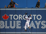 Jul 26, 2013, Houston Astros vs Toronto Blue Jays - Jose Bautista, Marc Krauss Photographic Print by Tom Szczerbowski