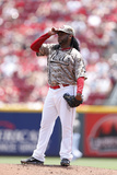 Jun 22, 2014, Toronto Blue Jays vs Cincinnati Reds - Johnny Cueto Photographic Print by Joe Robbins