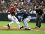 Jun 8, 2014, Atlanta Braves vs Arizona Diamondbacks - Paul Goldschmidt, Freddie Freeman Photographic Print by Norm Hall
