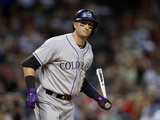 Apr 29, 2014, Colorado Rockies vs Arizona Diamondbacks - Troy Tulowitzki Photographic Print by Christian Petersen
