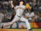 Sep 20, 2013, San Francisco Giants vs New York Yankees - Tim Lincecum Photographic Print by Maddie Meyer