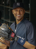 Jun 10, 2014, New York Yankees vs Seattle Mariners - Derek Jeter Photographic Print by Otto Greule Jr