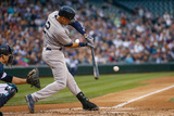 Jun 12, 2014, New York Yankees vs Seattle Mariners - Derek Jeter Photographic Print by Otto Greule Jr