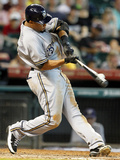 Aug 12, 2012, Milwaukee Brewers vs Houston Astros - Carlos Gomez Photographic Print by Bob Levey