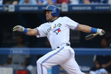 May 26, 2014, Tampa Bay Rays vs Toronto Blue Jays - Melky Cabrera Photographic Print by Tom Szczerbowski