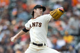 Jun 25, 2014, San Diego Padres vs San Francisco Giants - Tim Lincecum Photographic Print by Jason O. Watson