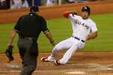 Apr 15, 2014, Washington Nationals vs Miami Marlins - Giancarlo Stanton Photographic Print by Mike Ehrmann