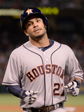 May 21, 2014, Houston Astros vs Los Angeles Angels of Anaheim - Jose Altuve Photographic Print by Harry How