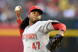 May 31, 2014, Cincinnati Reds vs Arizona Diamondbacks - Johnny Cueto Photographic Print by Norm Hall