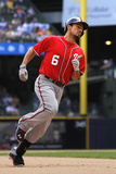 Aug 4, 2013, Washington Nationals vs Milwaukee Brewers - Anthony Rendon Photographic Print by Mark Hirsch