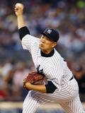 Jun 28, 2014, Boston Red Sox vs New York Yankees - Masahiro Tanaka Photographic Print by Rich Schultz