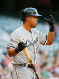 May 16, 2014, Chicago White Sox vs Houston Astros - Jose Abreu Photographic Print by Scott Halleran