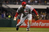 Apr 22, 2014, Cincinnati Reds vs Pittsburgh Pirates - Todd Frazier Photographic Print by Justin K. Aller