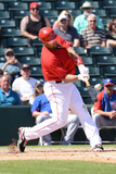 Mar 7, 2014, Chicago Cubs vs Los Angeles Angels of Anaheim - Albert Pujols Photographic Print by Norm Hall