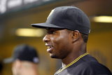 Jun 11, 2014, Chicago Cubs vs Pittsburgh Pirates - Gregory Polanco Photographic Print by Justin K. Aller