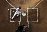 Apr 6, 2012, San Francisco Giants vs Arizona Diamondbacks - Paul Goldschmidt Photographic Print by Christian Petersen