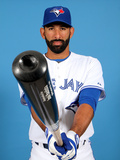 Toronto Blue Jays Photo Day: Feb 25, 2014 - Jose Bautista Photographic Print by Marc Serota