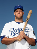 Feb 24, 2014, Kansas City Royals Photo Day - Alex Gordon Photographic Print by Christian Petersen