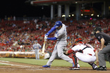 Jun 10, 2014, Los Angeles Dodgers vs Cincinnati Reds - Adrian Gonzalez Photographic Print by Joe Robbins