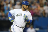 May 26, 2014, Tampa Bay Rays vs Toronto Blue Jays - Edwin Encarnacion Photographic Print by Tom Szczerbowski
