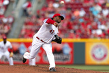 Jun 6, 2014, Philadelphia Phillies vs Cincinnati Reds - Johnny Cueto Photographic Print by Kirk Irwin