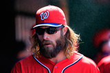Jul 5, 2014, Chicago Cubs vs Washington Nationals - Jayson Werth Photographic Print by Rob Carr