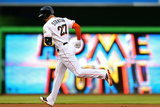 May 23, 2014, Milwaukee Brewers vs Miami Marlins - Giancarlo Stanton Photographic Print by Mike Ehrmann