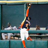 Jun 15, 2014, Tampa Bay Rays vs Houston Astros - George Springer Photographic Print by Bob Levey