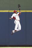 Jun 23, 2013, Atlanta Braves vs Milwaukee Brewers - Carlos Gomez Photographic Print by Mike McGinnis