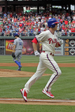 May 24, 2014, Los Angeles Dodgers vs Philadelphia Phillies - Chase Utley Photographic Print by Hunter Martin