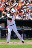 May 25, 2014, Cleveland Indians vs Baltimore Orioles - Nelson Cruz Photographic Print by Rob Carr